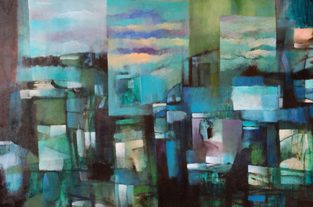 Aqui una seleccion de la 35 obras del artista Mauricio Ojeda que podemos ver actualmente en la Galeria de Arte de Valparaiso Bahía Utopica ubicada en el Cerro Alegre Almirante Montrt 372