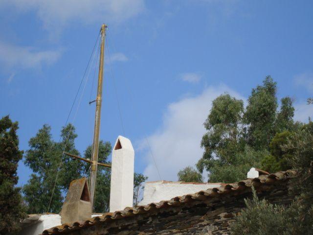 Cadaques et Roses, maison de Dali, juillet 2009, avec Thomas et Mathieu.