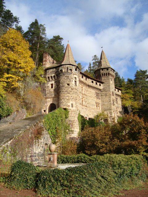 Château de la Rochelambert, octobre 2009.