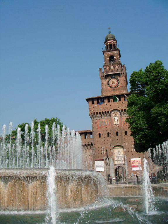 Pâques 2011, voyage Milan et la Lombardie, côté chevaux dans l'art