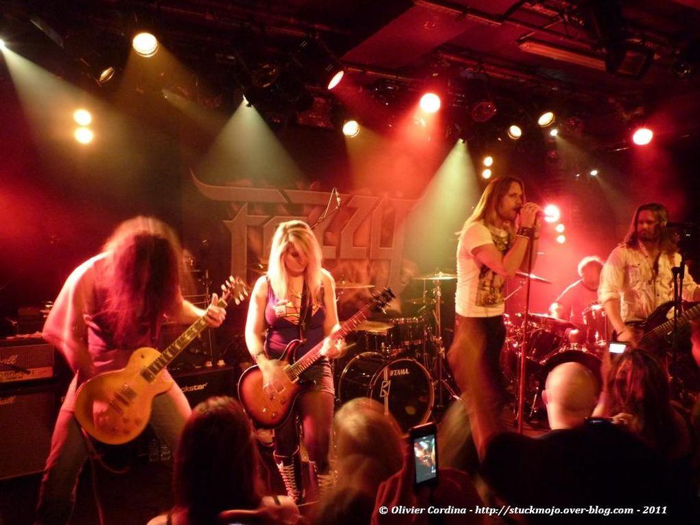 FOZZY Live in Paris 2011