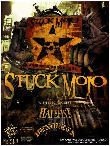 STUCK MOJO pics