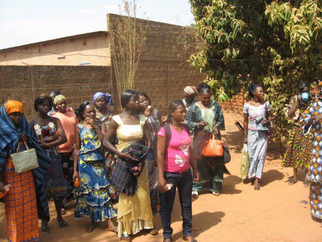 Mariage de Antoine et Danaya SANOU à la Mairie de l'Arrondissement de Dafra à Bobo-Dioulasso et à l'église du village de Lèguema le Samedi 9 Février 2013.
