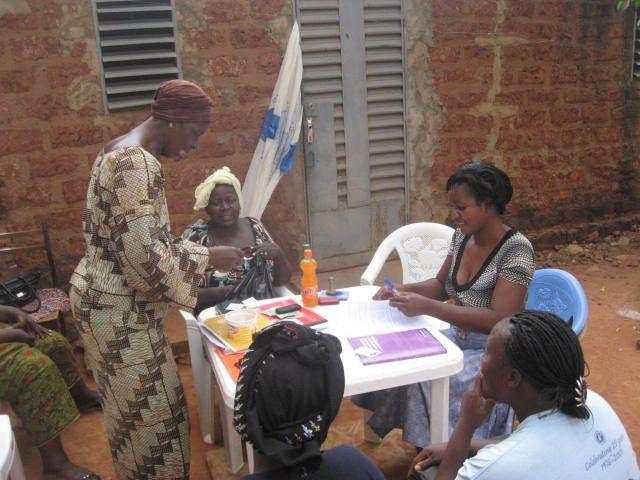 Activités du programme de microcrédits de développement des AGR de la Fondation Wurodini Service (FWS) à Bobo-Dioulasso.