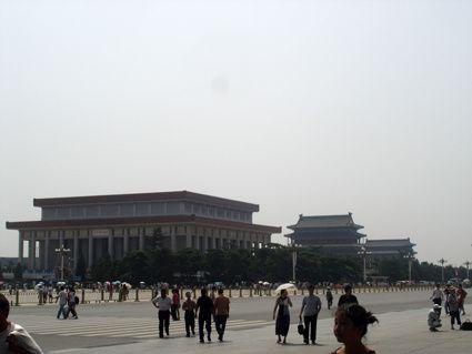 Photos de la place Tian'AnMen tout au long de l'année.