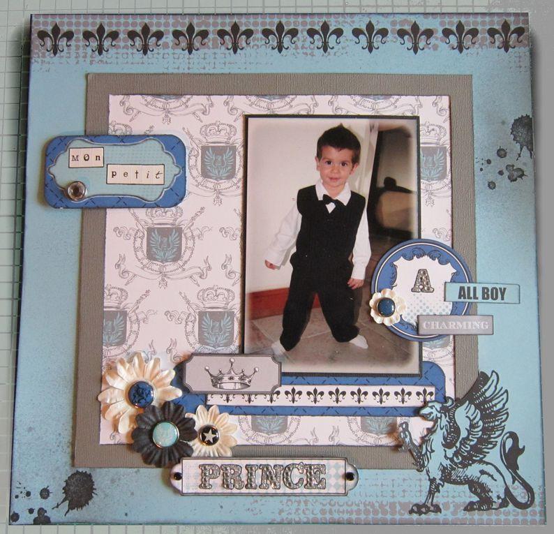 album de page pour mon petit mec d'amour