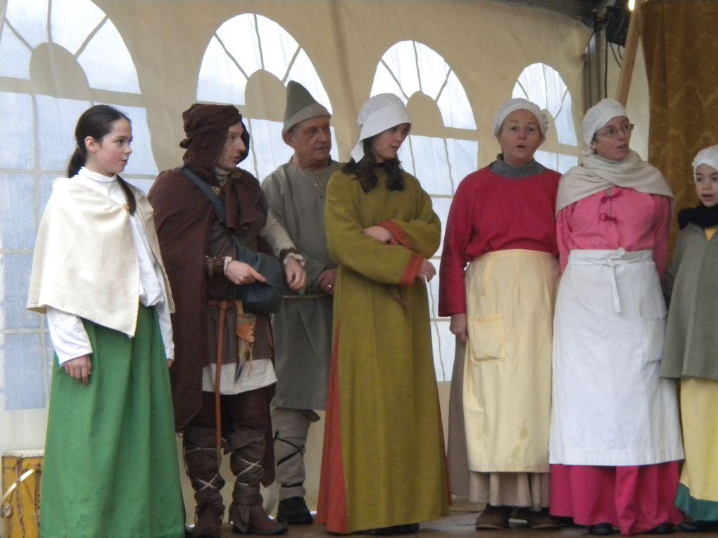 Animations du Marché de Noël de Loches en décembre 2010