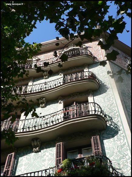 Barcelone... Un aperçu de la ville en juillet 2011...