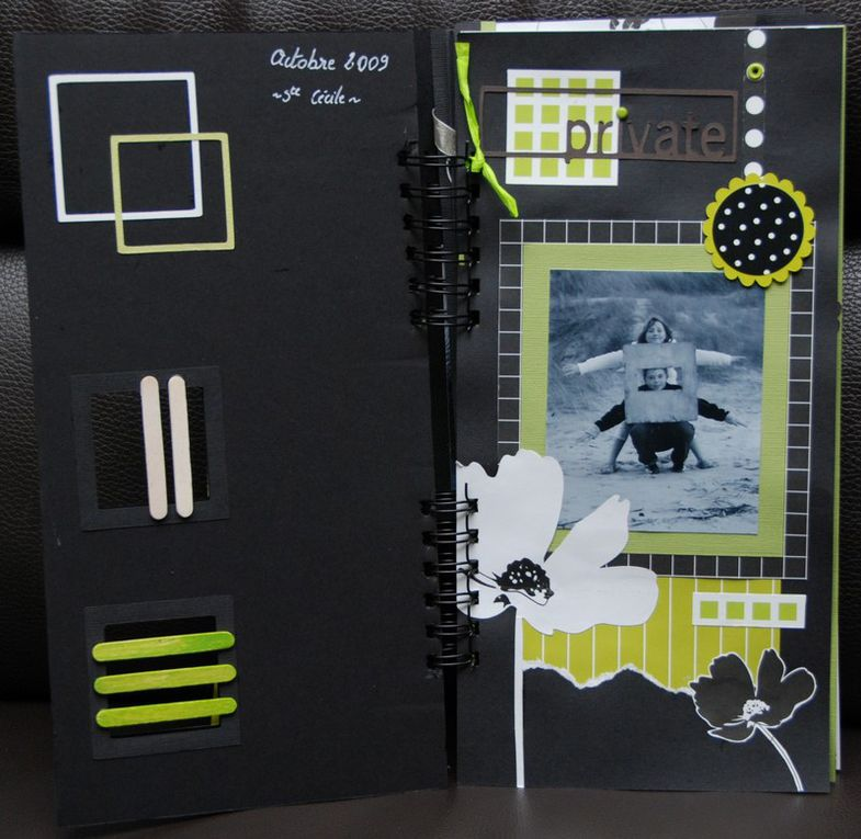 Album - Scrapbooking - Album Les enfants