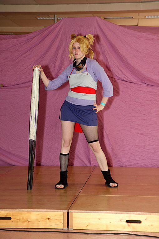 Défilé cosplay à Alchimies 2011, samedi et dimanche