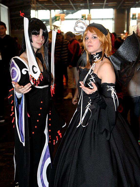 Cosplay libre Manga Party Festival à Paris Porte de Versailles, dimanche 10 avril 2011