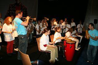 Quelques images d'orchestres à l'école au Salon de la Musique et du Son 2008