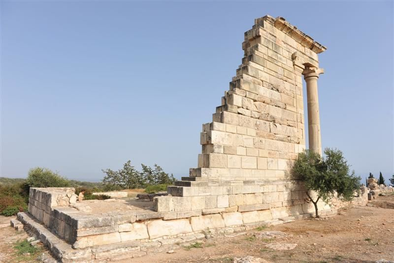 Le temple d'Apollon, CURIUM, OMODOS