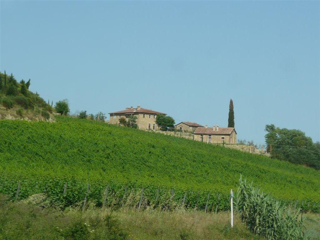 des paysages toscans