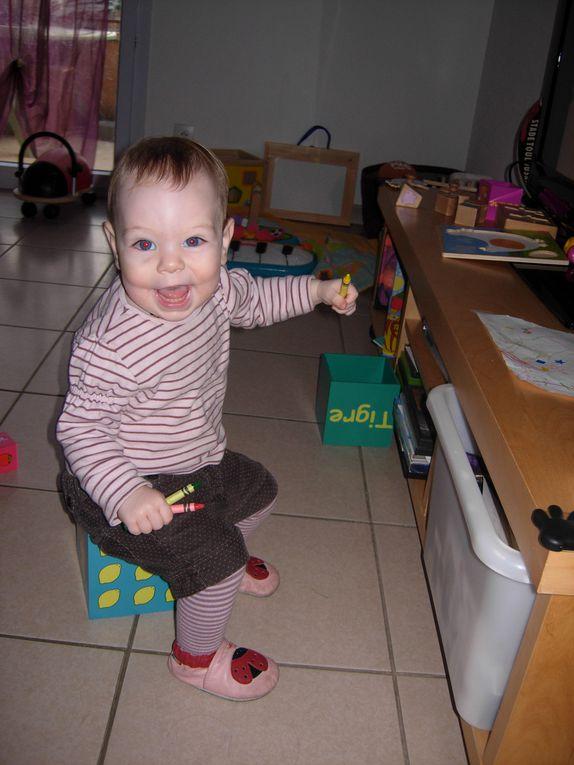Notre Petite Auxane est née le 16 septembre 2009. Le plus bébé du monde!!