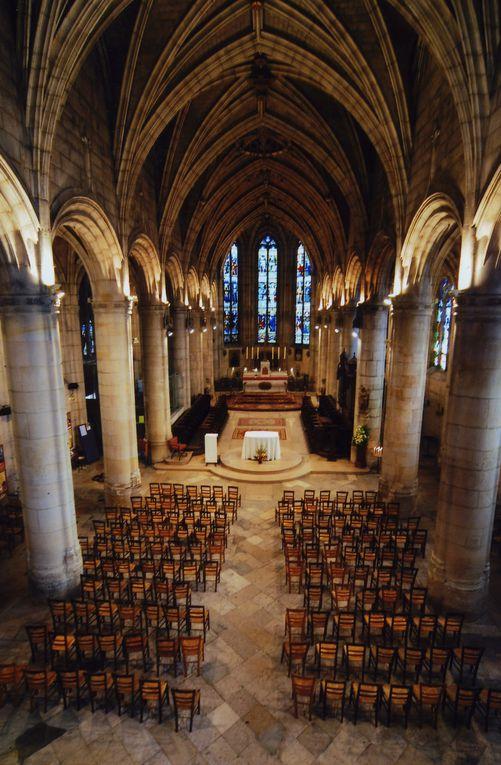 La Collégiale de St.Martin de Montmorency vue par l'appareil de Mr Chagrot