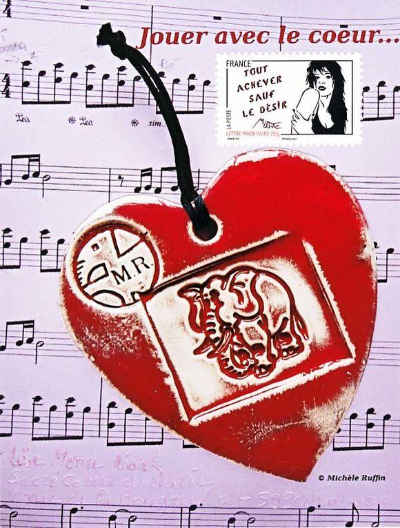 """Les réponses 2011 à mon thème """"coeur, coeur de marie, sacré coeur, sacré coeur de marie""""."""