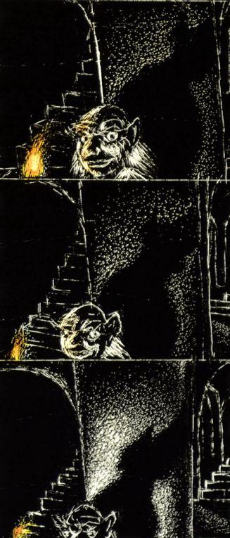 Quelques dessins pour le clip vidéo de 1986