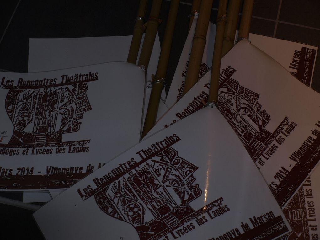 Album - Rencontres Théâtrales - un samedi de montage