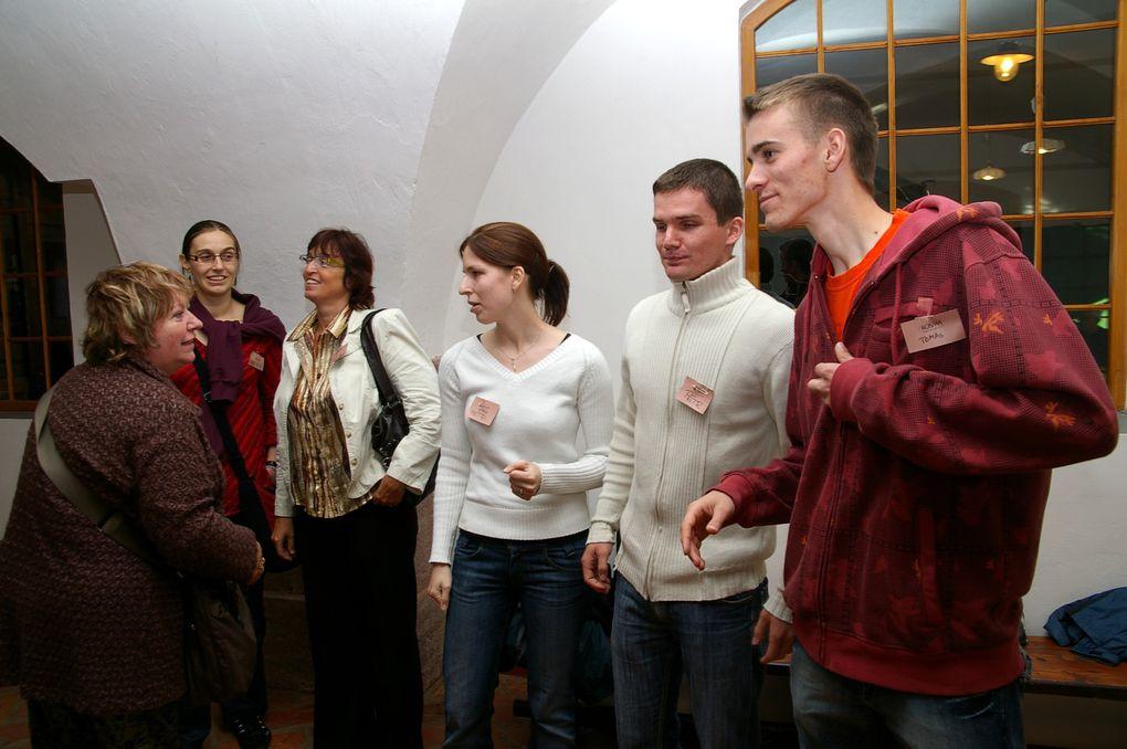 Notre soirée-trop courte- avec nos amis de Kostelec.