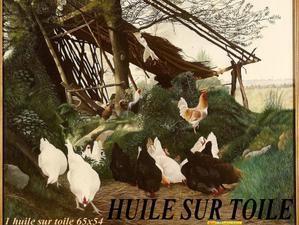 Album - HUILE-SUR-TOILE