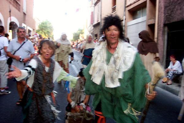 Photos ouverture des Médiévales 2008