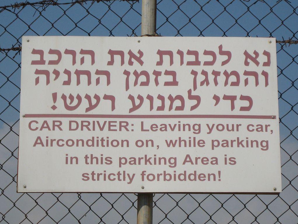 Impressions d'Israël, printemps 2009 - Cliquez sur une photo pour agrandir.