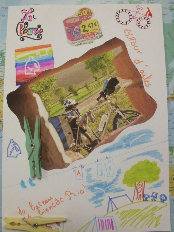 Les pages de nos carnets de voyageAutour d'aîles.