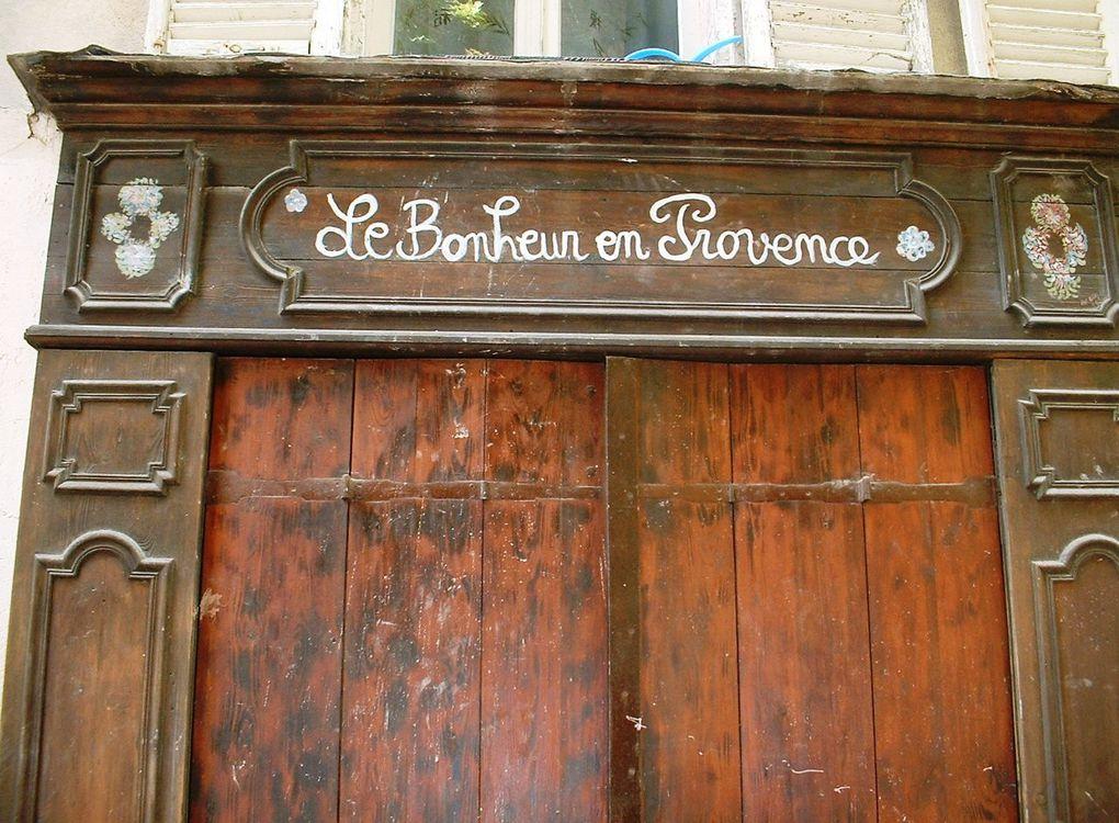 De Provence et d'ailleurs...