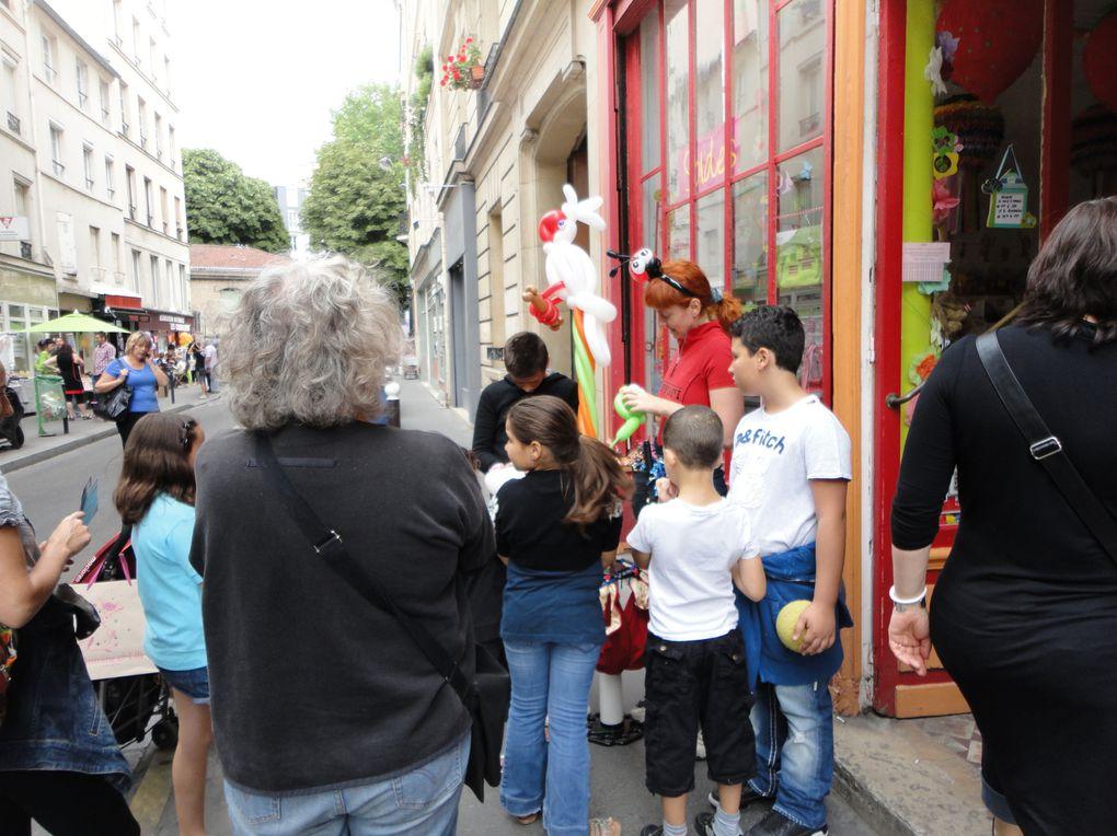 Première journée du fait main rue des Vinaigriers