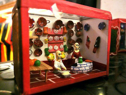 Fiesta de los muertos organisée par la Galerie végétale et La Piñata - 29 rue des vinaigriers 75010 Paris - Photos Jason Whittaker