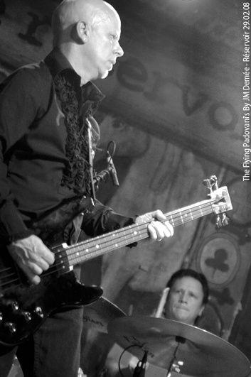 Henry Padovani (guitar), Paul Slack (bass), Chris Musto (drums)