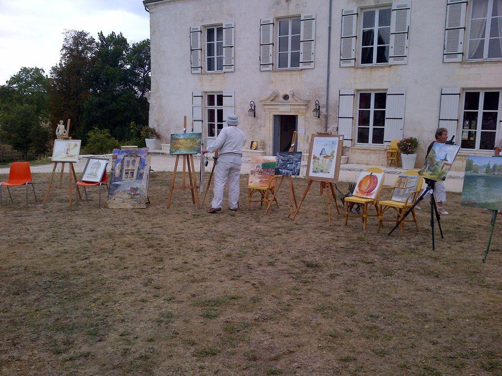 Pour la 14 ème année, dans le parc du Château de Laléard