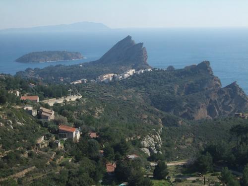 Randonnée du 28/01/2009 sur les crêtes des falaises Soubeyranes à Cassis