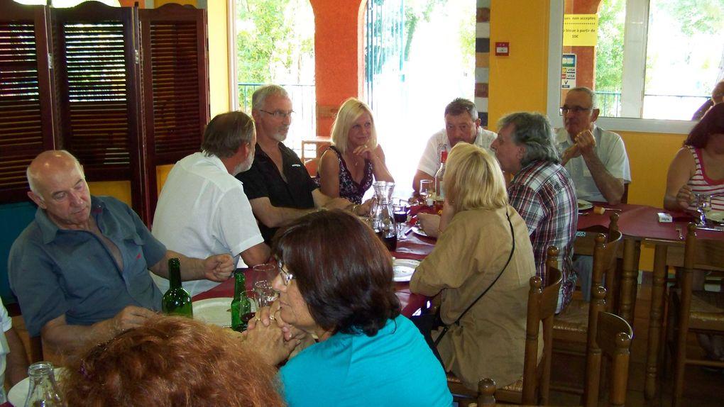 Journée de détente des adhérents et amis du Tarot Club Alèsien.