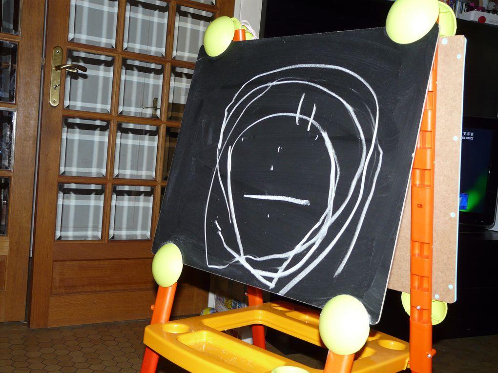 Les dessins et activités manuelles d'Eryn.