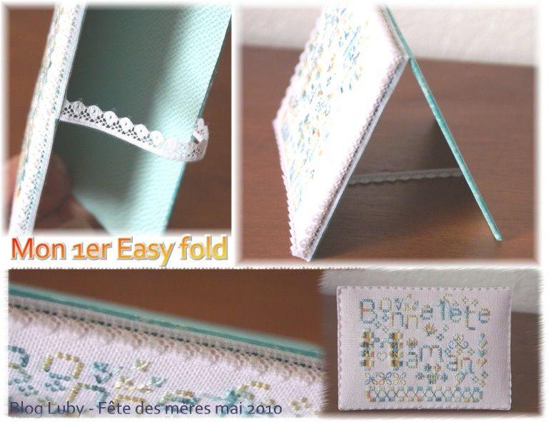 Easy fold que j'ai créés