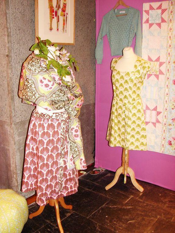 quelques photos en souvenir de cette très belle exposition proposée parL'AMOUR DU FILà NANTESdu 24 au 26 avril 2009