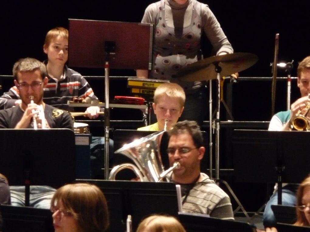 Répétition générale à la Coupole pour le concert du 27/03/2011