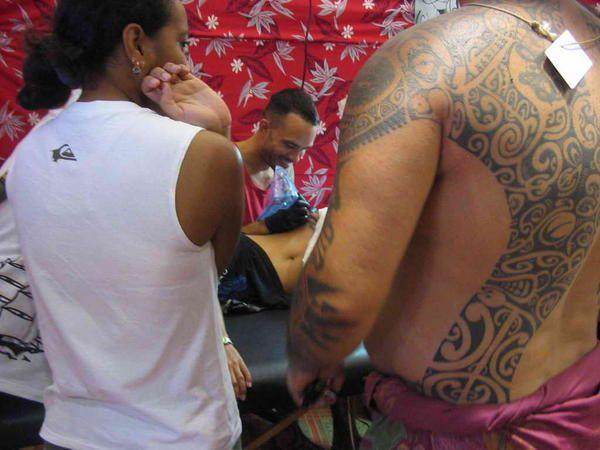 Salon du tatouage Pirae 2007
