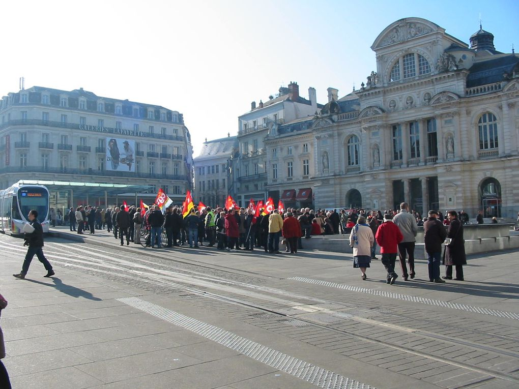 Manifestation Europeenne du 29 fevrir 2012 à Angers.
