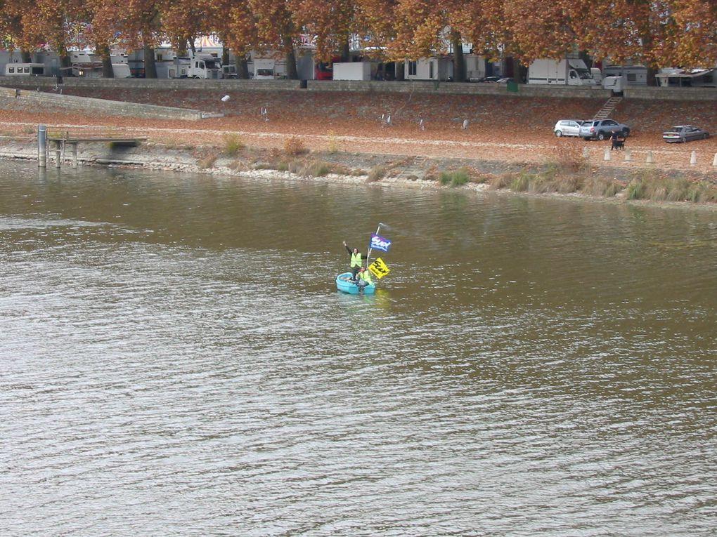 Manifestation du 6 novembre 2010 à Angers contre la réforme des retraites.