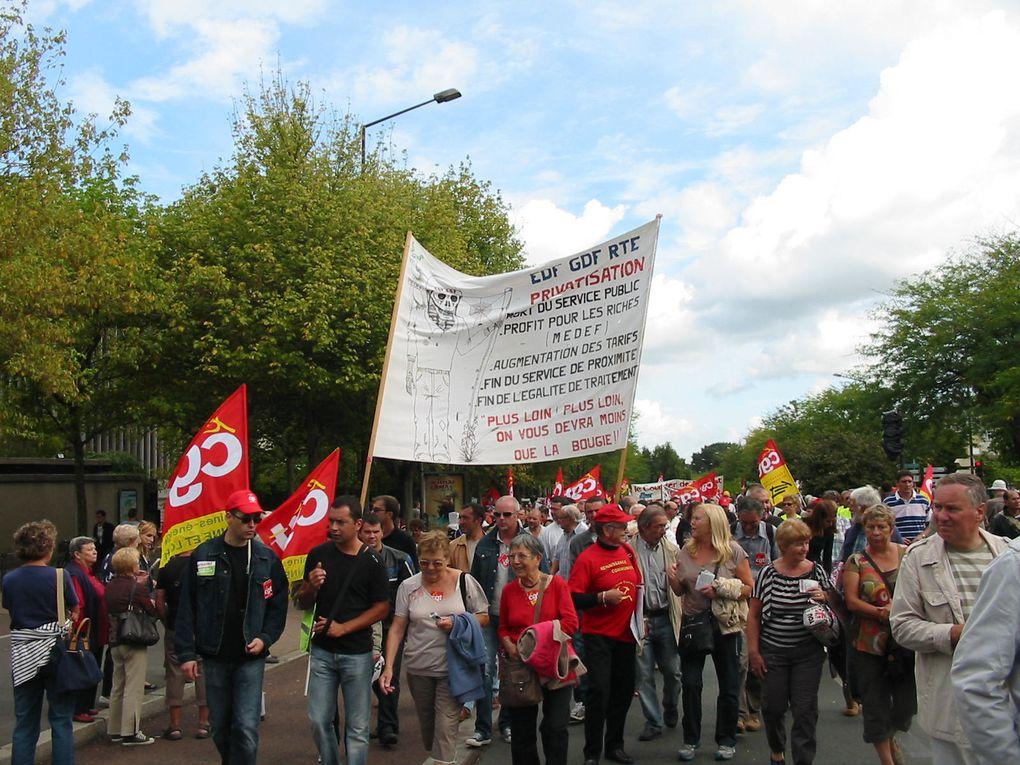 Journée d'action interprofessionnelle contre le projet gouvernementale pour les retraites.