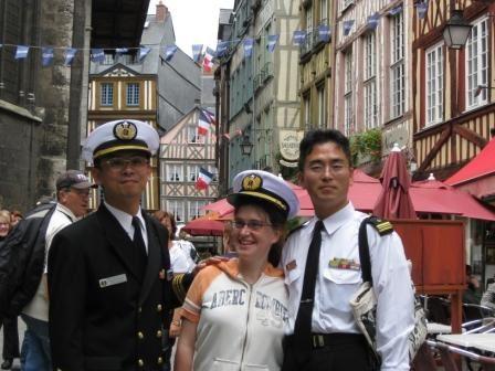 We du 14 juillet 2008 à Rouen à l'occasion de la Grande Armada.
