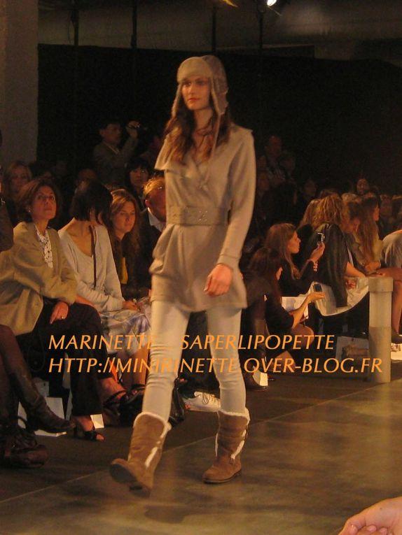 Défilé du Comptoir des Cotonniers le 31 mai 2010 à l'institut de la Mode - Collection Automne Hiver 2010 / 2011