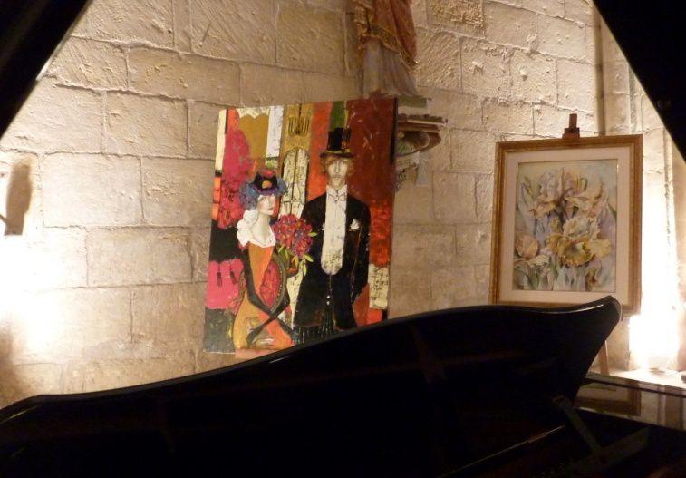 Album - Des artistes dans l'église de Beurey