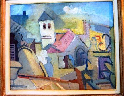Un artiste au destin brisé...Né en 1911, Jean Lasne disparaît tragiquement, porté disparu, le 16 mai, lors de la percée allemande par les Ardennes dans le Nord de la Meuse.Sa sépulture se trouve dans le cimetière de INOR ( Meuse )