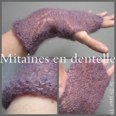réalisations, explications GRATUITES, TUTOS de points en tricot EN PHOTOS