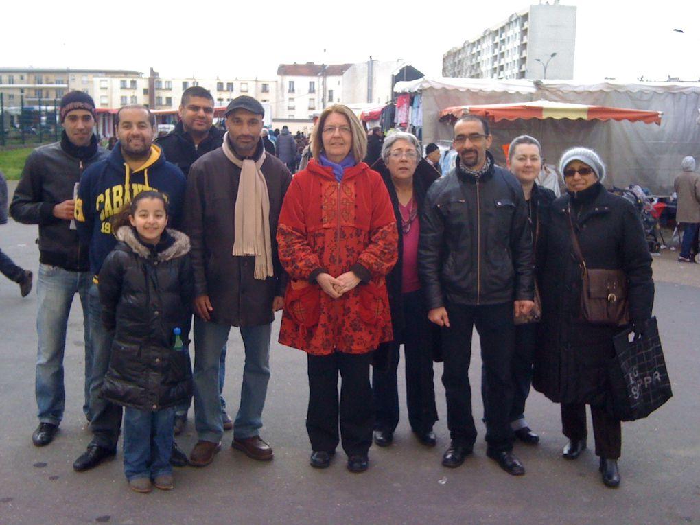 Au marché des 4 routes dimanche 20 mars 2011 Élections cantonales