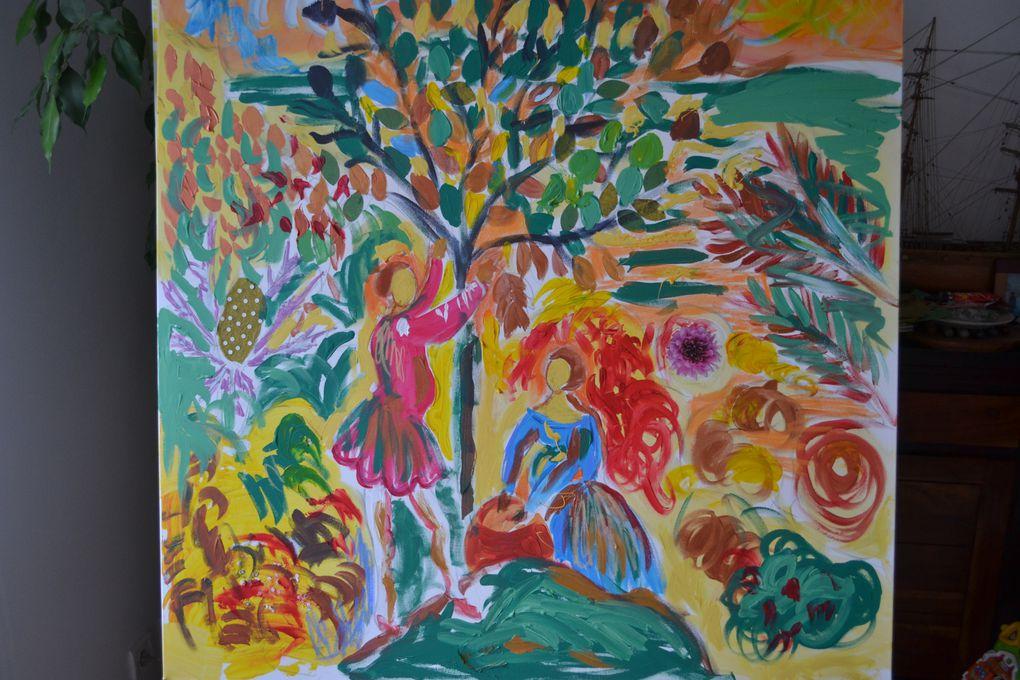 Album - Peintures figuratives et allégoriques